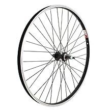 Sta Tru RWS2615AAK Rear Alloy B/O wheel with Single Wall Rim, 26mm x 1.5-Inch, Black