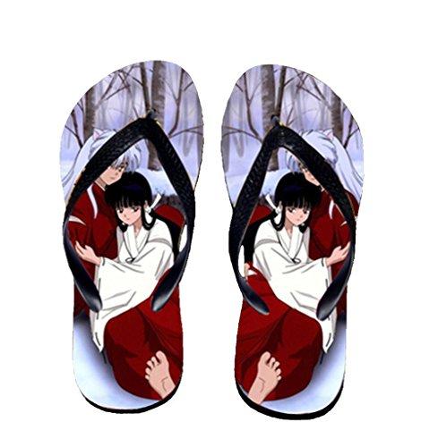 Bromeo Inuyasha Anime Unisex Flip Flops Chanclas 607