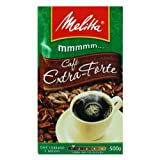 Melitta Extra Strong Roasted Coffee - 17.6 oz | Café Extra-Forte Melitta - 500g - (PACK OF 24)