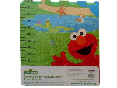 Amazon Sesame Street Growth Chart Baby