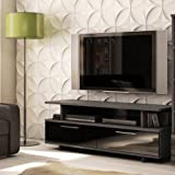 South Shore Furniture Reflekt Collection, TV Stand, Gray, Oak