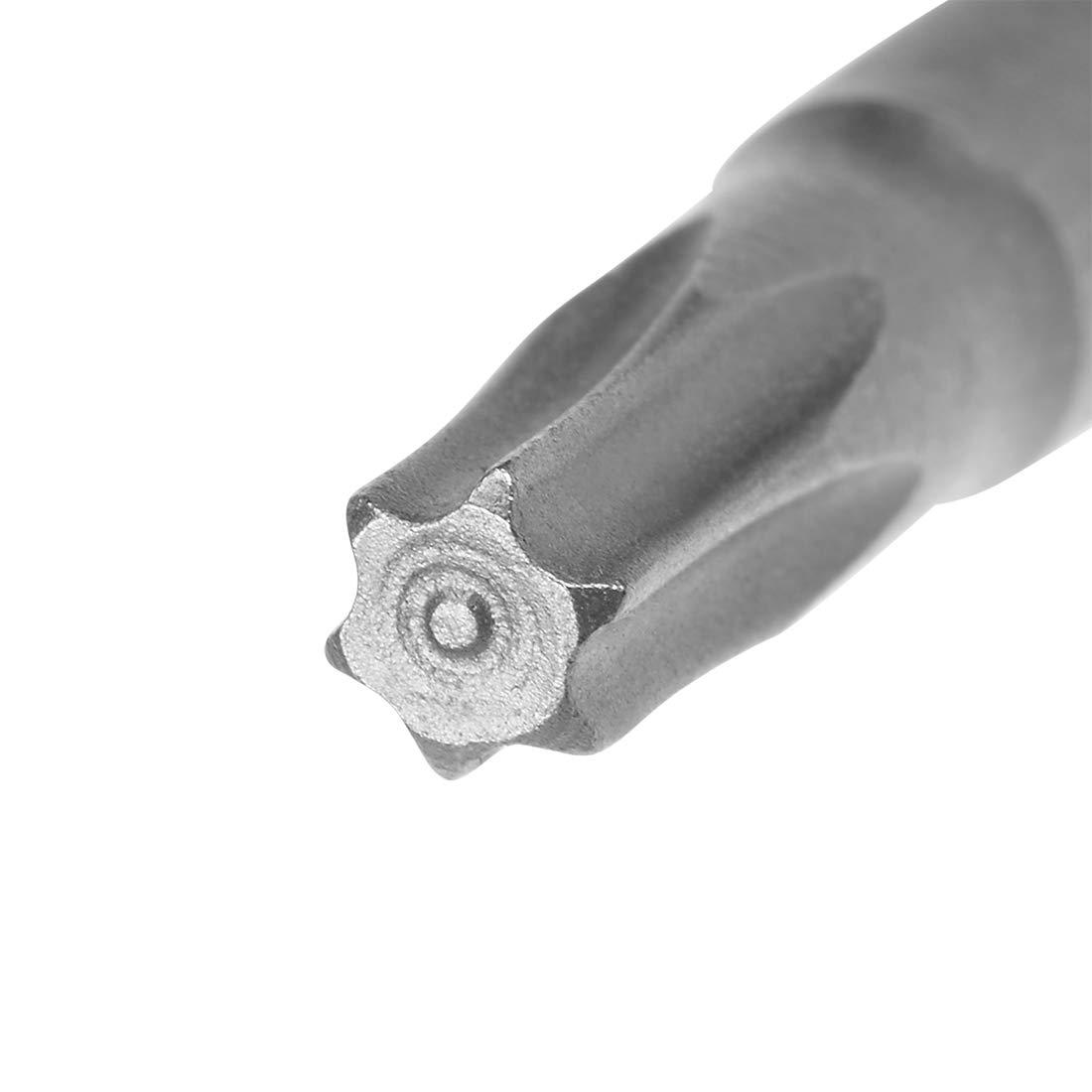 5pc 50mm queue Hex 1//4 T30 Torx tournevis t/ête magn/étique S2 Acier haute
