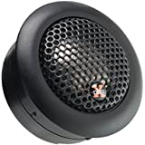 Powerbass 3XL-2S 1-1/4 Competition Grade Pure Silk Dome Tweeter