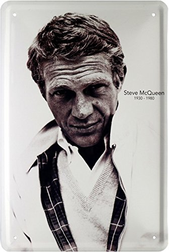 Steve McQueen Targa in metallo 20/X 30/Retro Targa in 565