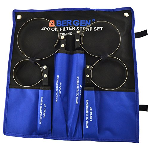 Swivel oil filter wrench set 2-3/4 - 5-1/4 inch BERGEN AT145