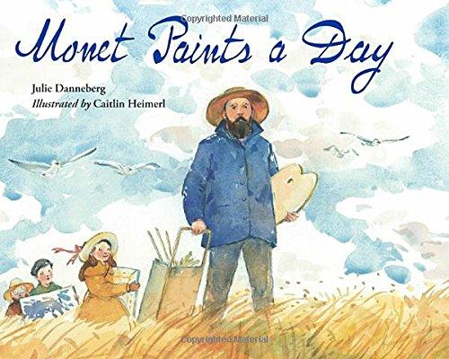 Monet Paints Day Julie Danneberg product image