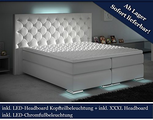 Hg Royal Xxxl Boxspringbett Designer Boxspring Bett Led Chesterfield
