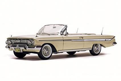 Amazon com: 1961 Chevy Impala Convertible, Almond Beige