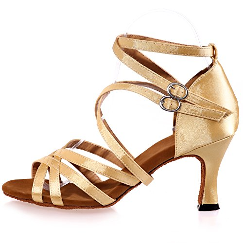 Sandali ballo casual bianchi con punta aperta con stringhe per donna rHk78ZSp