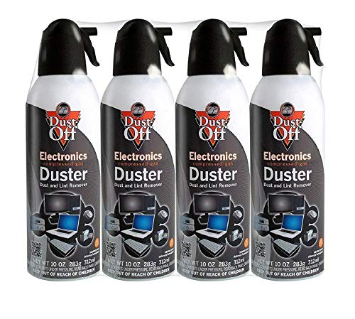 Falcon Dust-Off Electronics Compressed Gas Duster 10 Oz (4 - Air Electronic Dust