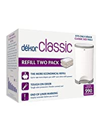 Diaper Dekor Refill - 2 ct BOBEBE Online Baby Store From New York to Miami and Los Angeles