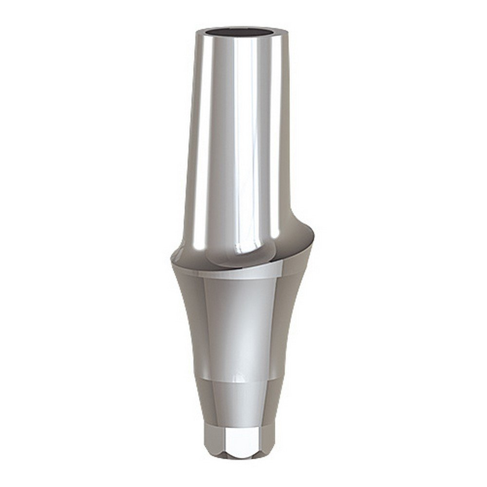 Paltop 40-72044 Conical 4 mm Straight Anatomic Abutment Ti, Concave, 4.5 mm Diameter