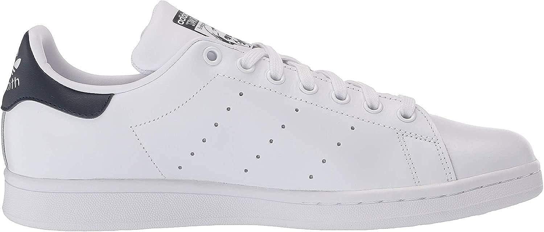 Adidas Womens Stan Smith áFootwear WhiteOff White Leather Trainers 37 13 EU
