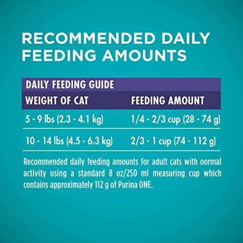 Purina ONE Hairball Formula Adult Dry Cat Food 14