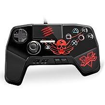 (Update 2017)Mad Catz Street Fighter V FightPad PRO Gamepad for PlayStation 4 ,PlayStation 3-Black
