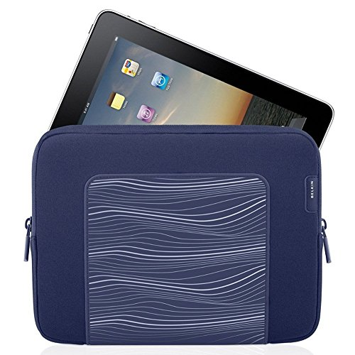 Ipad Carrying Sleeve, Belkin Grip Protective Holder Tablet Carrying Sleeve, Indigo Belkin Textured Silicone Sleeve