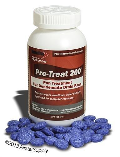 Pro-Treat® PT-200 Drain Pan Treatment - 200 Tablets / Jar