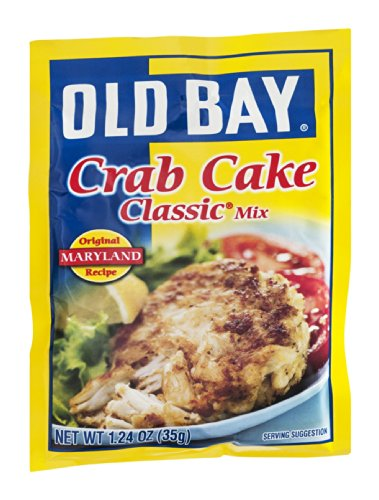 Old Bay Crab Cake Classic Crab Cake Mix 124Ounce Packets Pack of 12
