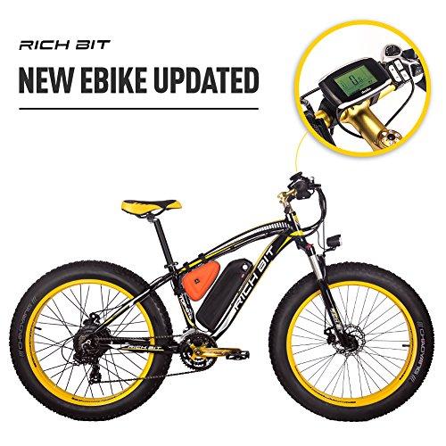 RICH BIT RT-022 E-bike Electric Bicyle 26 inch 4.0 Fat Tire