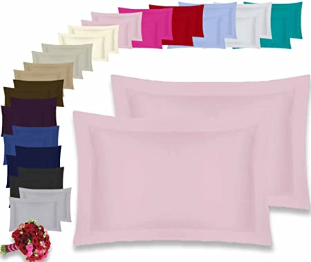 pink Oxford pillow cases Separate