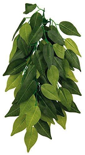 50cm Reptile Vivarium Sucker Mounted Vine Habitat Silk Hanging Plant, Ficus 76240 by Trixie