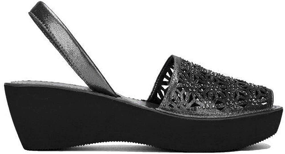 Kenneth Cole REACTION Womens Shine Far Platform Slingback Wedge Sandal