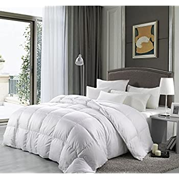 cal king size 1500 thread count goose down alternative comforter 100 percent. Black Bedroom Furniture Sets. Home Design Ideas