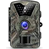 Victure Trail Game Camera Night Vision Motion Activated Hunting Cam 12MP 1080P 2.4 LCD Waterproof Wildlife Camera for Outdoor Surveillance