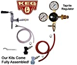 Nitro Refrigerator Conversion Kit, Taprite, ALL Stainless Steel Parts, Stout Faucet, Shank, Tailpiece. No Nitrogen Tank