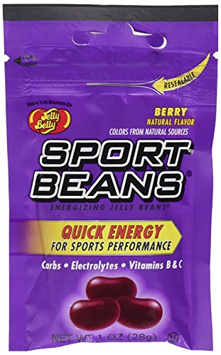 Berry Beans Sport (Jelly Belly Sport Beans, 1-Ounce (Pack of 10) (Berry))