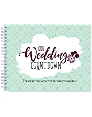 What a Choice! Wedding Gift for Couple - A Cute Engagement Gift for Bride to Be, Happy Planner for Future Mrs and Mr. Engagement Gift for Couples, Wedding Countdown Book Organizer.