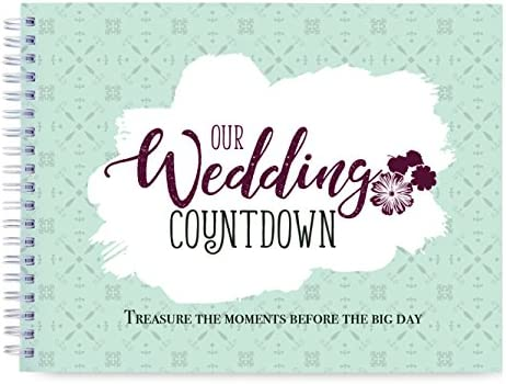 What a Choice! Wedding Countdown Book: Photo Album to Record Memories Before The Big Day, Bride Planner Organizer, Wedding Checklist, Bridal Shower & Bride to Be Gift. A Journal of Memories