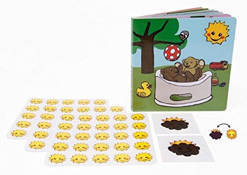 autocollant 108/Extra folle Smileys + Emoji pas bien Kit dapprentissage Magic Potty avec Super