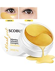 Eye Mask, Masque Yeux Collagène, Masques anti-rides pour les yeux, Hydratant Masque Soin Yeux, anti-âge pour les yeux Masque contre les cernes