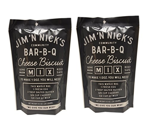 Jim N Nicks World Famous Cheese Biscuits Mix - 8.5 -Ounce (Pack of - Mix Biscuit Cheese