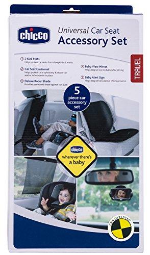 Amazon.com : Chicco Universal Car Seat Accessory Set Kick Mats ...