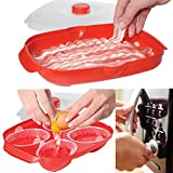 Sistema (2 Piece) Breakfast Maker Set: Microwave Egg Cooker Poacher & Microwave Bacon Cooker With Lid