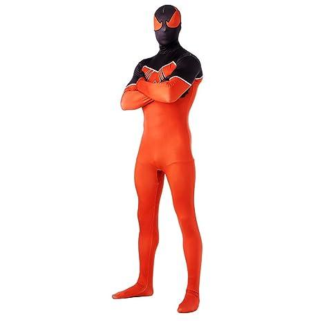 Amazon.com: DSFGHE Spiderman Cosplay Traje De Superhéroe ...