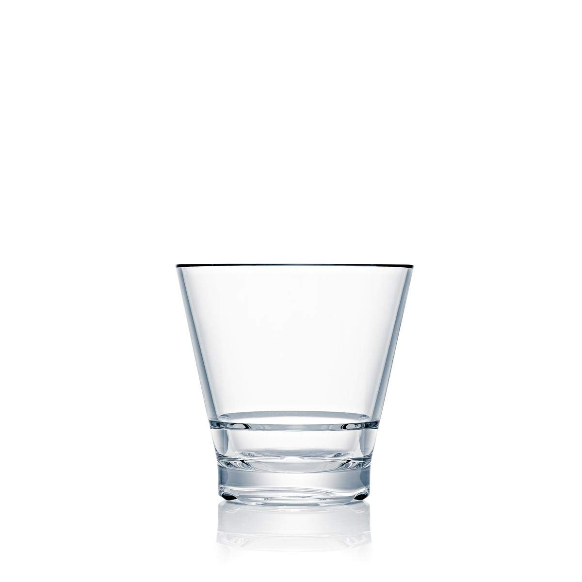 Strahl CapellaStack 14-oz Double Rock Highball Glass, Set of 4
