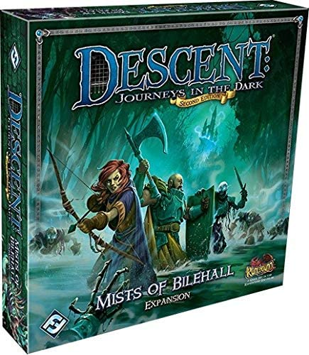 Fantasy Flight Games Descent Mists of Bilehall Campaign Expansion ...