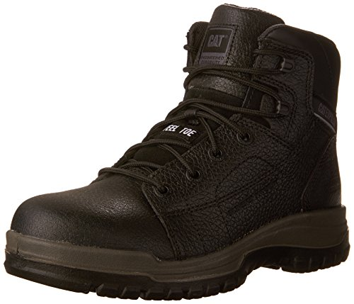 Caterpillar Men's Dimen Hi Steel-Toe Work Boot - Black - ...