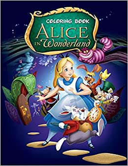 Amazon Com Alice In Wonderland Coloring Book Coloring Book For