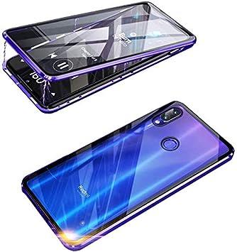 HALPP Funda XIAOMI REDMI Note 7,360° Metal Bumper con Adsorción ...
