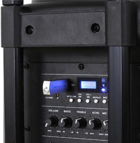 QTX QR15PA diffusore attivo portatile 250W