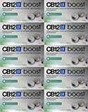 CB12 Boost Eucalyptus White Chewing Gum, Pack of 2, Total 20 Chewing Gum