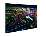 Ashley Giclee Metal Panel Print, The Las Vegas Strip As Seen From The Cosmopolitan Hotel With View Onto Bellagio, 16x20, AG6422257