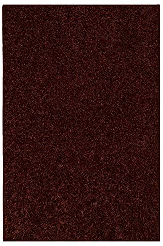 Ambiant Pet Friendly Solid Color Chocolate 4'X6' - Area ()