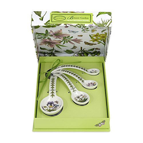 Portmeirion Botanic Garden Measuring Spoons, Set of 4 (Botanic Garden Spoon)