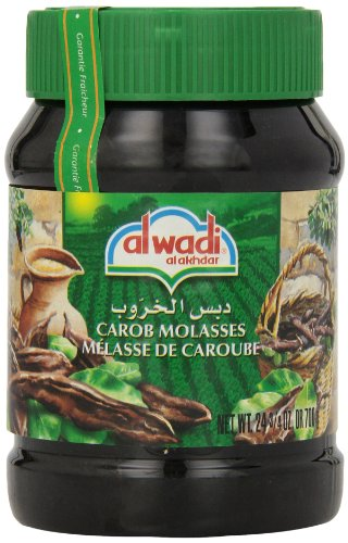 Alwadi Al Akhdar Carob Molasses, 24.75-Ounce Jars (Pack of 3)