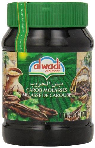 Price comparison product image Alwadi Al Akhdar Carob Molasses,  24.75-Ounce Jars (Pack of 3)